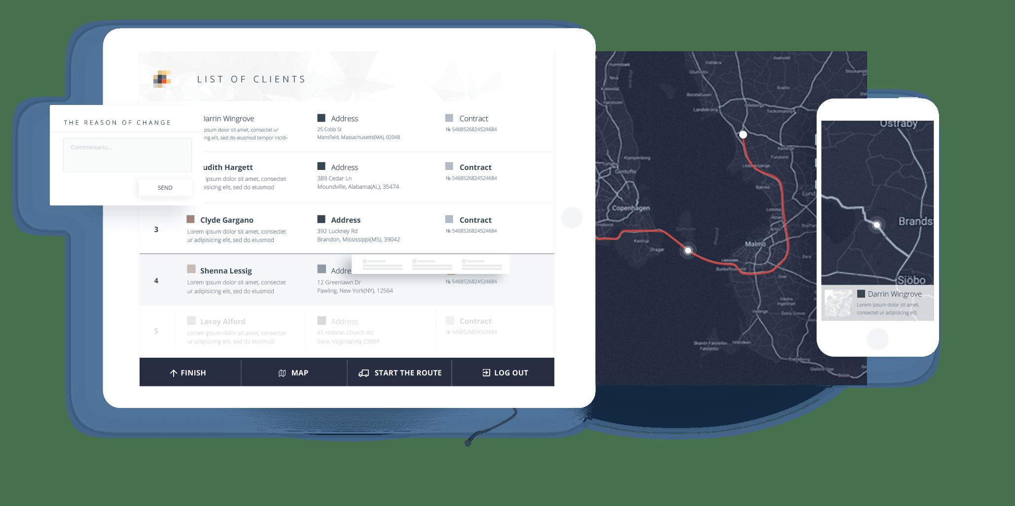 Aplicatie mobila expeditori Moldova