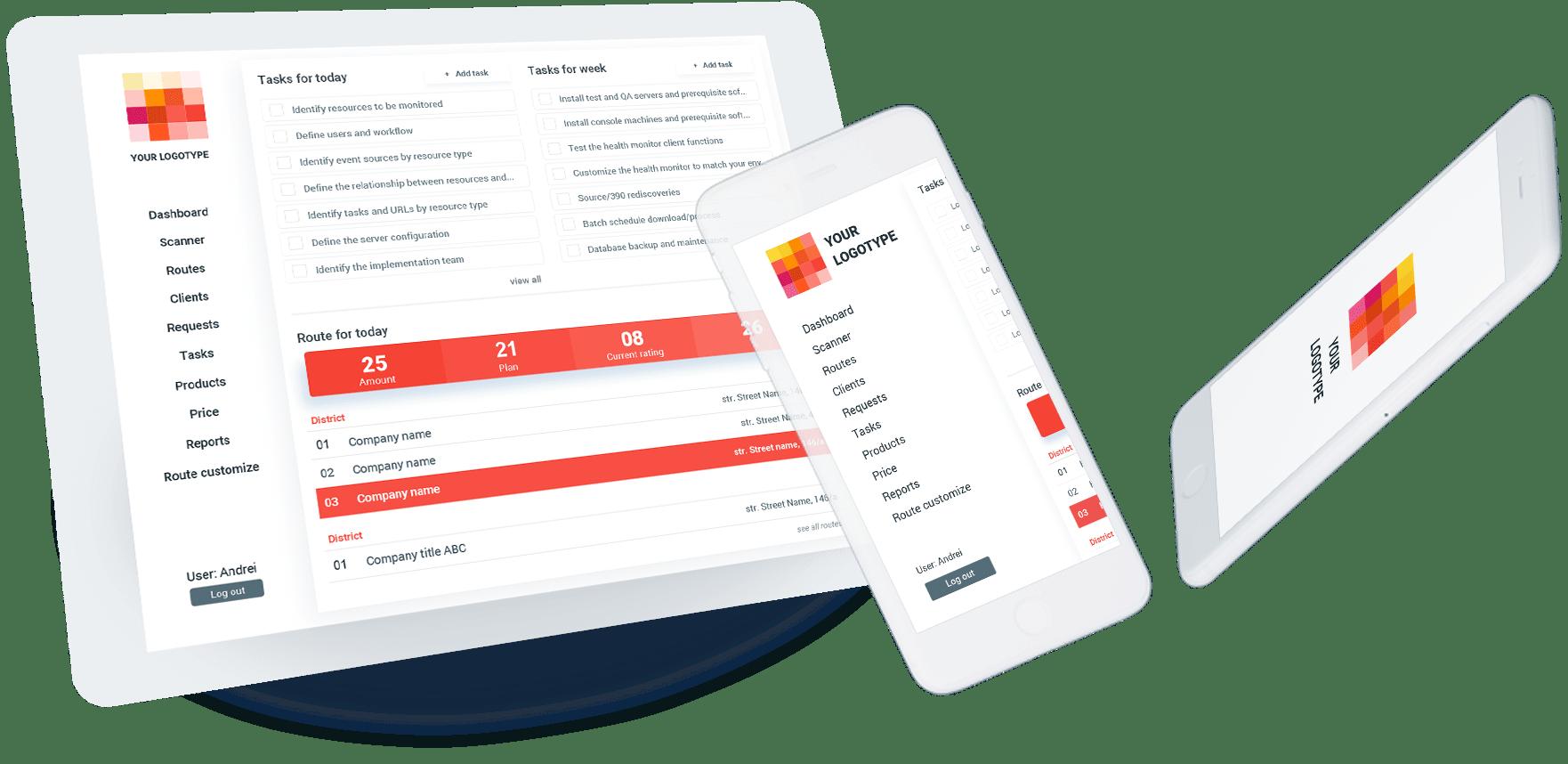 Aplicatie mobila SFA