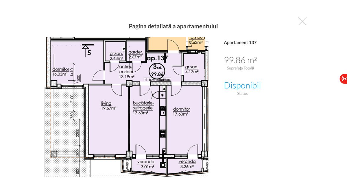 Apartament Information