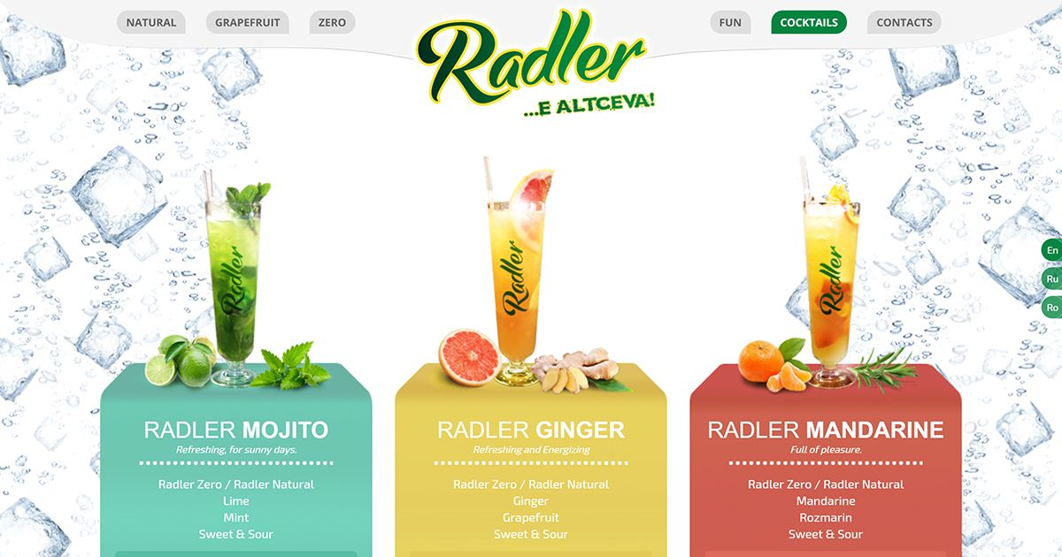 Radler Cocktails Creating